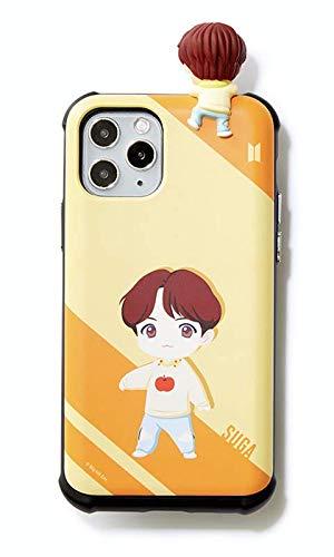 BTS-Handyhülle: BTS Charakter Figur Slide Bumper Samsung Galaxy, iPhone Hülle Edgeline (xr, Suga)