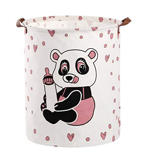 wäschesack faltbar wäschebox wäscheschrank wäschetruhe wäschesortierer wäschetonne plastik,Baumwoll-Leinen wasserdichte PE-Beschichtung Ablagekorb Kleinigkeiten Aufbewahrungsbox (A)