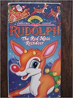 Rudolph The Red-Nose Reindeer VHS Tape