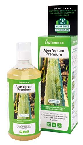 Plameca Aloe Verum Premium - Salud Gastrointestinal Y Fatiga, color Verde, 1000 g