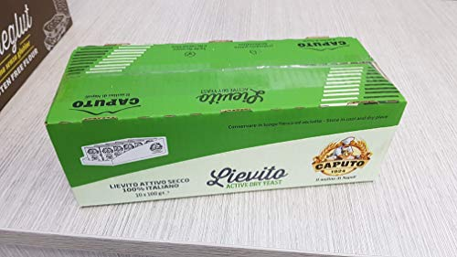 Lievito Secco 100% Italiano - Mulino Caputo - Cartone 10 Pezzi