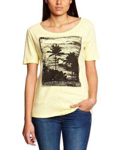 O\'Lw Beach Shortsleeves Women\'Neill Herren T-Shirt Bedruckt Gr. X-Large, Gelb - Hellgelb