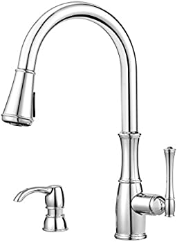 Pfister GT529WH1C Wheaton Single Handle Pull-Down Kitchen Faucet