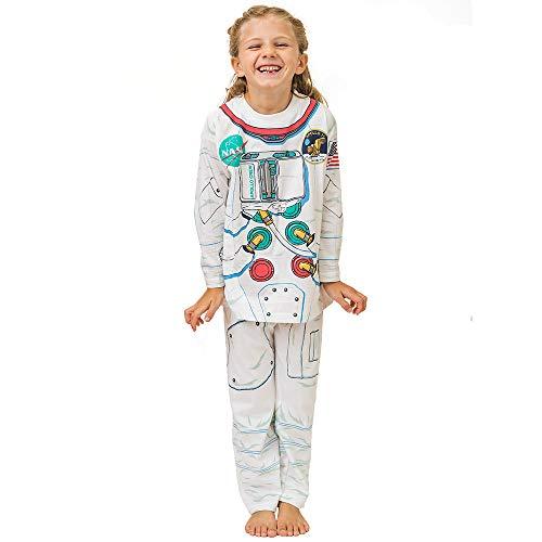 Pijama de Astronauta y Ropa Casera Divertida (5-6 Anõs)