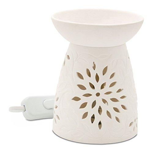 Heart & Home Floral Lampe à parfum électrique 200 g