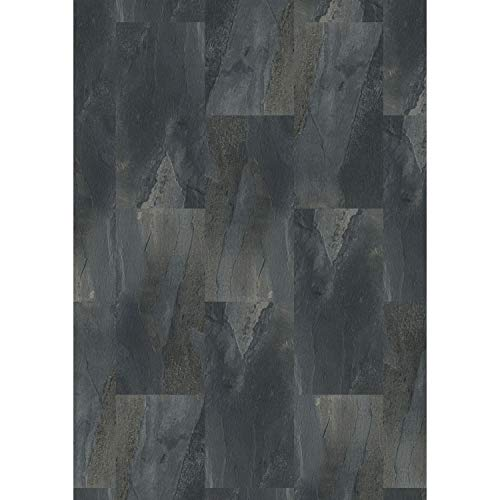 Tilo V1159 Eleganto Vinylboden, Schiefer Vesuv, ungefast, Sand Paketinhalt (qm): 1,02