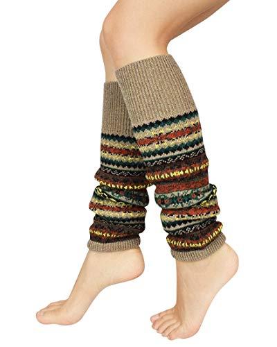 Tacobear Calentadores Piernas Mujer Invierno Caliente Legwarmer Lana Largos Calcetines de Bota Calcetines de Punto para Mujer Ni/ña
