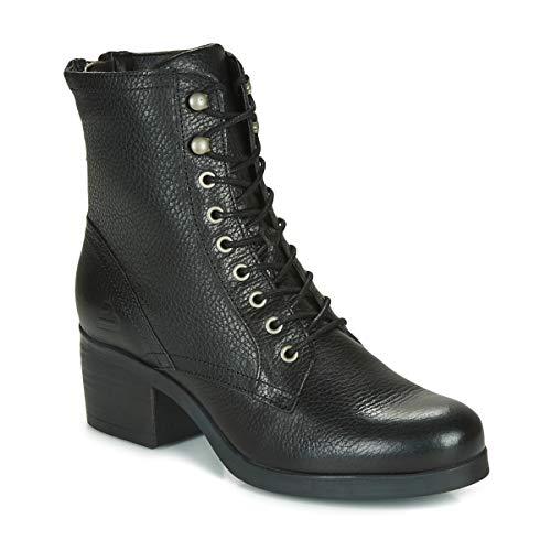BULLBOXER Enkellaarzen/Low boots dames Zwart Enkellaarzen