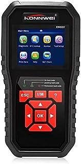 Car Diagnostic OBDII Scanner Code Reader OBDII Anto Scanner Check Engine Light Scan Tool for All OBD II Cars Since1996 Bla...