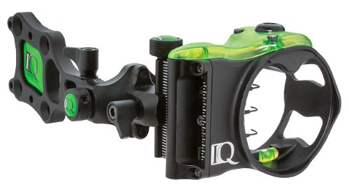 IQ Bowsight Micro 3 or 5 Pin Compound Bow Archery Sight with Retina Lock Technology - Left and Right Hand