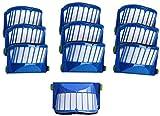 KTZAJO Kit de accesorios de repuesto fiable, filtros de cepillo para IRobot Roomba 527e 529 595 600 610 620 630 645 650 655 660 680 (color: 10 filtros)
