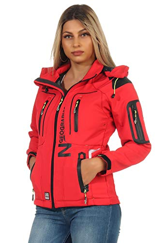 Geographical Norway Damen Softshell Jacke G-Tansy - Coral - XL/4