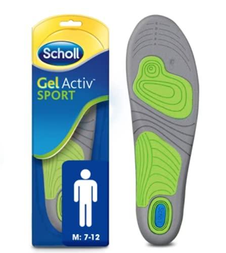 Scholl Active - Soletta in gel, da uomo