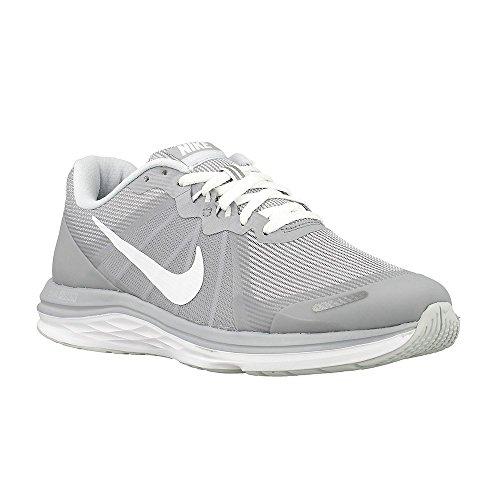Nike Wmns Dual Fusion x 2, Zapatillas de Running para Niñas, Gris (Gris (Wolf Grey/White-Pure Platinum), 36 EU