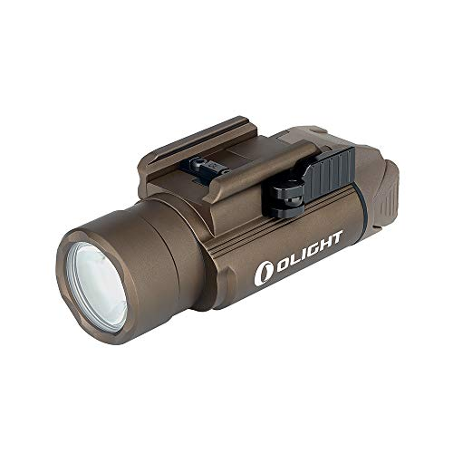 OLIGHT(オーライト) PL-PRO ウェポンライト 1500ルーメン タクティカルライト フラッシュライト 充電 懐中電灯 サバゲー 自衛 防水 セルフディフェンス 狩猟 野外活動 2年保証