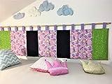 Wandschutz für das Kinderbett Gross (Einhorn)