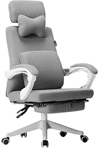 ZHEYANG Sillas Gamer Gaming Chair Ergonómico Ordenador Butaca de Juego Altura del Asiento reclinable Giratorio de Ajuste del Eje de balancín Silla de Oficina con reposacabezas y Almohada Lumbar