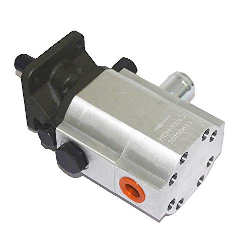 Lowest Price! USLICCX 16 GPM 2 Stage Hydraulic Log Splitter Pump Replacement Gear Pump
