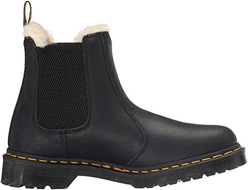 Dr. Martens Damen 2976 Leonore Chelsea Boots, Schwarz (Black 001), 39 EU