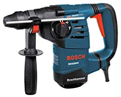Professional rotary hammer design - features 2.4 Ft.-Lbs. of impact energy, with Vibration Control and three modes of operation Active Vibration Control in the (1) hammer mechanism and the (2) grip area - provides maximum user comfort Features an int...
