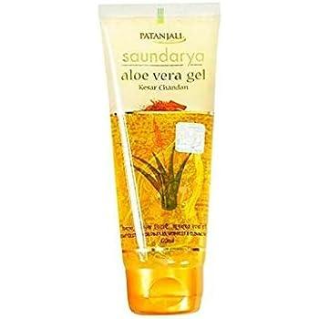 Patanjali - Saundarya Kesar Chandan Aloe Vera Gel - 60ml Pack