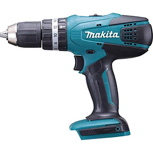 "Makita HP457DZ Li-ion ""G-Series"" Combi Drill Driver, 18 V, Blue"
