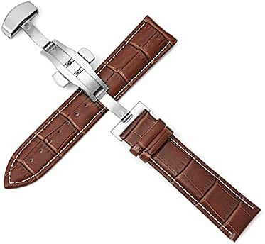 Recommendation supreme LYHGT Watch Bands Leather 12-24mm Universal But Watchbands