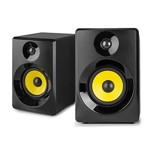 "Price comparison product image VONYX 30B Active Studio Monitors (Pair) 3"" Powered Desktop Multimedia Speakers,  2-Way"