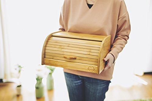 ENFANCE(アンファンス)『LaCuisine(ラクイジーヌ)竹製ブレッドケース(EF-LC05)』