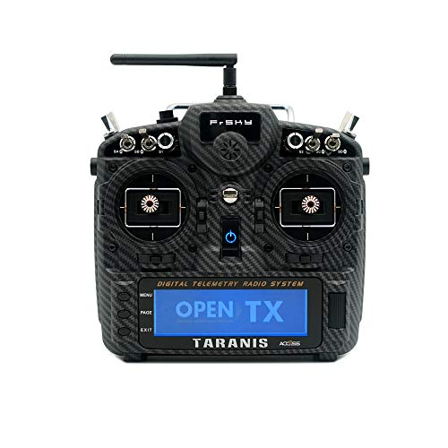 FrSky Taranis X9D Plus SE 2019 Transmitters 24 Channels with para Wireless Trainer Function (Carbon Fiber)