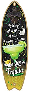 """SJT ENTERPRISES, INC. Margarita - Take Life with a Grain of Salt, a Wedge of Lime and a Shot of Tequila Bottle Opener 5"""" x..."""