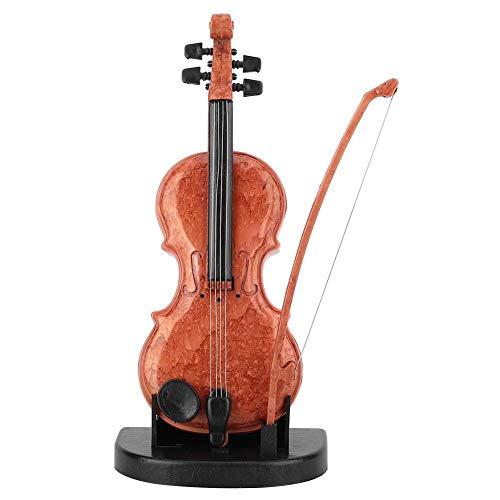 Boquite Caja de música, Juguete de Regalo para niños de cumpleaños con Forma de violín de plástico Mini Encantador