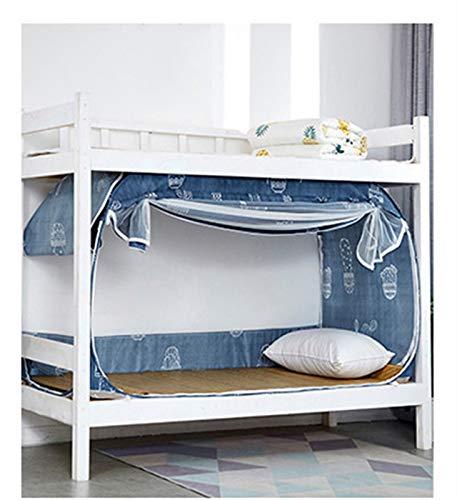 WWYYZ Cortinas opacas para dormitorio de estudiante, cortinas para habitación de niños, tela de protección de privacidad, manto de cama