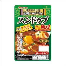豆腐で作るチゲの素 スンドゥブ マイルド 300g×10個