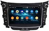 AEBDF Android 10.0 Sat Nav para Hyundai I30 2011-2016, Capacitivo GPS Navegación Pantalla táctil...