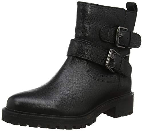 GEOX D HOARA A BLACK Women's Boots Biker size 39(EU)