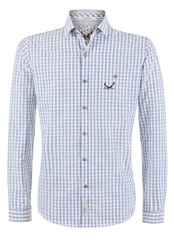 Stockerpoint Herren Manolo Hemd, blau, 3XL
