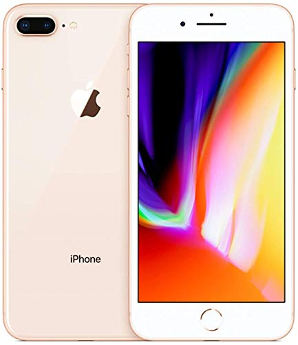Apple iPhone 8 Plus, 64GB, Gold - GSM Unlocked (Renewed Premium)
