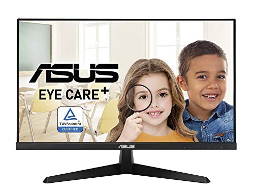 ASUS VY249HE 605 cm 238 Zoll Eye Care Monitor Full HD 75Hz IPS FreeSync Blaulichtfilter VGA HDMI 1ms Reaktionszeit