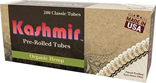 Kashmir Organic Classic Tubes - One (1) 200ct Carton