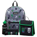 Minecraft Kids Minecraft Backpack 4 Piece Set