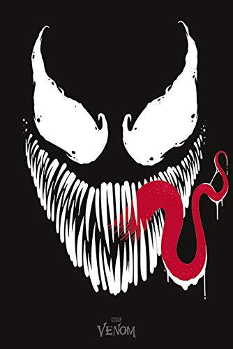Marvel Comics Poster Venom Face, Multicolor, 61 x 91.5cm