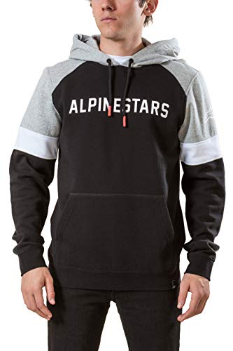 Alpinestars Hoody Leader Schwarz Gr. XL
