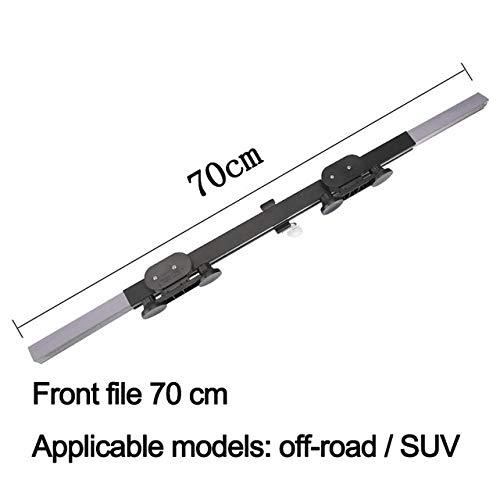 Fijnere 46cm / 65cm / 70cm upgrade auto voorruit zonnescherm automatische uitbreiding auto deksel raam zonnescherm uv zonneklep beschermer gordijn, voorkant 70x150cm