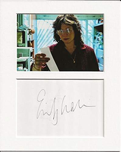Emily Watson Chernobyl auténtica auténtica firma autógrafo y foto AFTAL