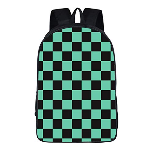 NOCY&ZL Demon Slayer Kimetsu no Yaiba Japanese Anime Casual Large Capacity Backpack Daypack Laptop Bag Satchel College Bag Book Bag School Bag