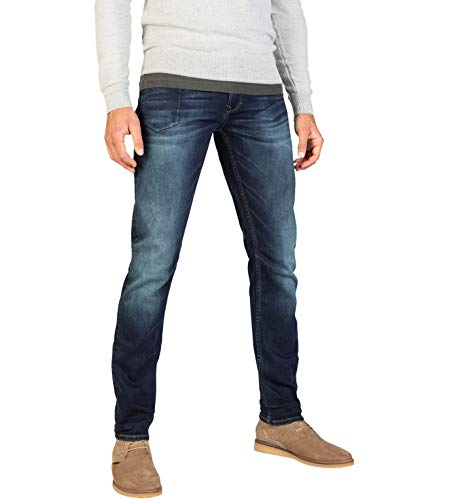 PME Legend Herren Jeans Skymaster Tinted Blue Denim, Größe:W32 L36