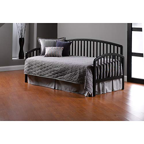 Hillsdale Carolina Wood Daybed in Black Finish-Without Trundle - Without Trundle