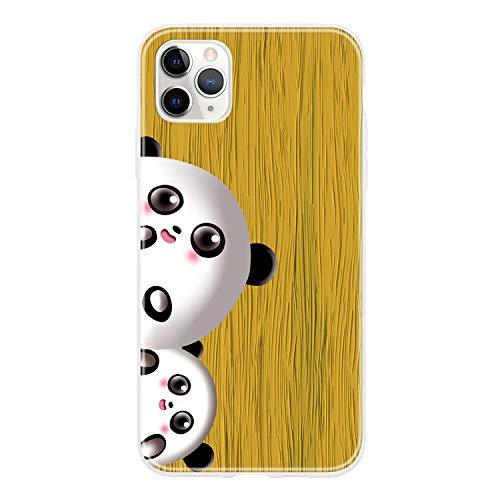 Miagon - Funda de madera iPhone 11 amarillo