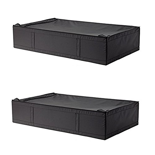 Ikea SKUBB Unterbettkommode Fall mit Reißverschluss. Ca. 36,1/2x 21,3/4x 7.1/2 Schwarz